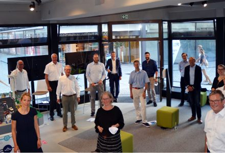 Facilities of the Digital Home Paderborn officially opened
